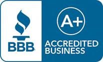 A+ rating on better business bureau